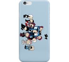 Doctor Who All Doctors comic iPhone Case/Skin
