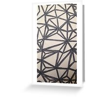 BLANK- OG pattern Greeting Card