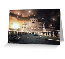 Rome Apocalypse  Greeting Card