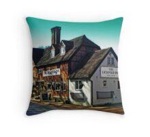 The Lickfold Inn Throw Pillow