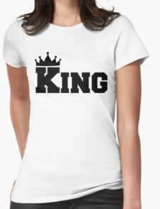 King Design Womens Fitted T-Shirt