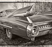 An Old Cadillac by Greg and Chrystal Mimbs