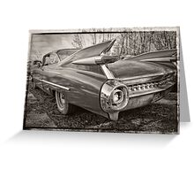 An Old Cadillac Greeting Card