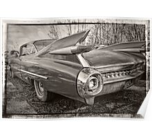 An Old Cadillac Poster