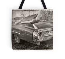 An Old Cadillac Tote Bag