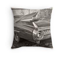 An Old Cadillac Throw Pillow