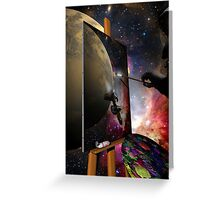 Space Art Greeting Card