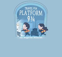 Travel via Platform 9 3/4 Unisex T-Shirt