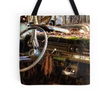 Nature Takes Over A Cadillac Tote Bag