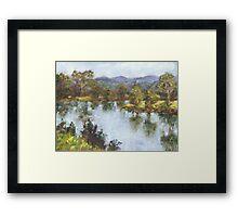 Hastings River, Wauchope Framed Print