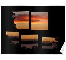 Motukaraka at Sunset Poster