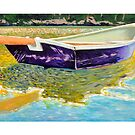 Sculling Skiff by Dave  Higgins