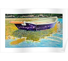 Sculling Skiff Poster