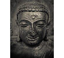 Ancient Buddha Statue Photographic Print
