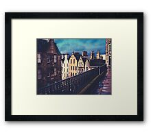 Old Town Edinburgh Buildings Framed Print