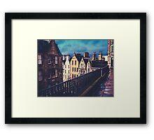Old Town Edinburgh Buildings Framed Print