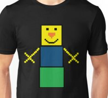 Pixel the snowman noob edition Unisex T-Shirt
