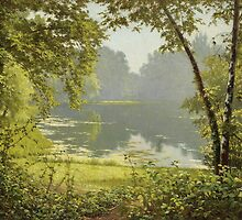 Henri Biva (French, 1848-1928), Tranquility by Adam Asar
