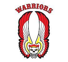 The Warriors Colours (Logo) Photographic Print