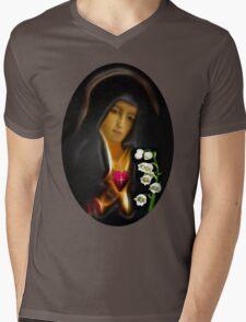 ✿♥‿♥✿ MY VERSION - TEARS OF THE VIRGIN MARY...TEE SHIRT✿♥‿♥✿ Mens V-Neck T-Shirt