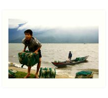 Gusts and Gales of Vietnam II Art Print
