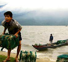 Gusts and Gales of Vietnam II by Laura McNamara