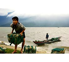 Gusts and Gales of Vietnam II Photographic Print