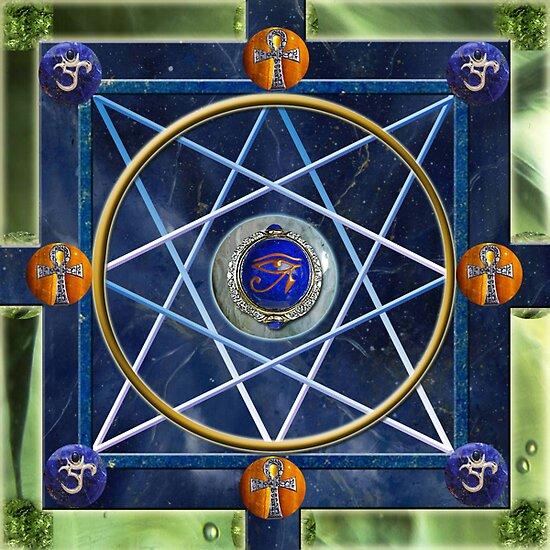 Protection Mandala by Jen  Govey