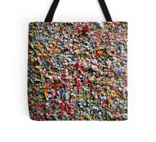 Market Theater Gum Wall (detail), Seattle Tote Bag