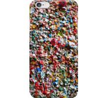Market Theater Gum Wall (detail), Seattle iPhone Case/Skin