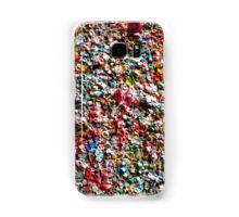 Market Theater Gum Wall (detail), Seattle Samsung Galaxy Case/Skin