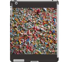Market Theater Gum Wall (detail), Seattle iPad Case/Skin