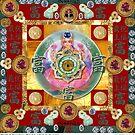 Wealth Mandala by Jen  Govey