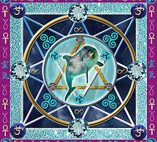 Healing Mandala by Jen  Govey