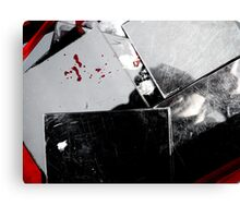 look in the mirror Canvas Print