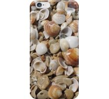 beach pebbles iPhone Case/Skin