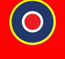 British WWII airforce logo by monsterplanet