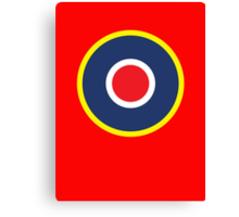 British WWII airforce logo Canvas Print