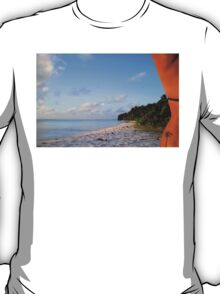 Palm Tattoo, Cocos Islands T-Shirt