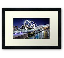Seafarers Bridge Framed Print