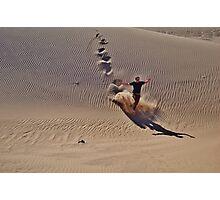 Dune plunge Photographic Print
