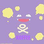 KOFFEE Koffing Coffee Mug by James Quinn