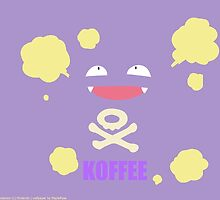 KOFFEE Koffing Coffee Mug by James Quinn