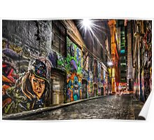 Hosier Lane Poster