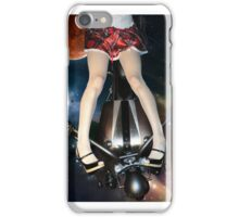 Look Ma, no hands quattro (b) - Mars attacks iPhone Case/Skin