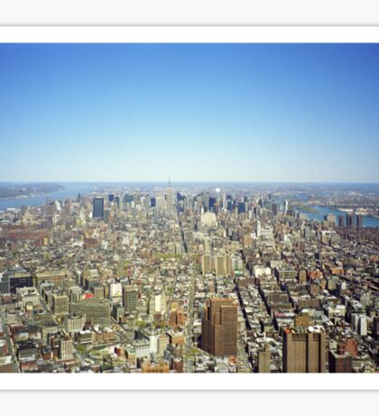 New York Skyline 2 Sticker