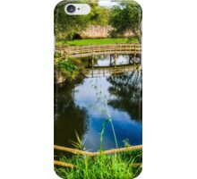 Picnic Area In The Marnel River iPhone Case/Skin