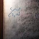 the writing on the board by georgeisme