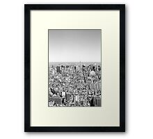 New York Skyline 1 Framed Print