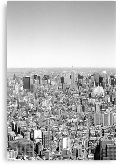 New York Skyline 1 by Flo Smith